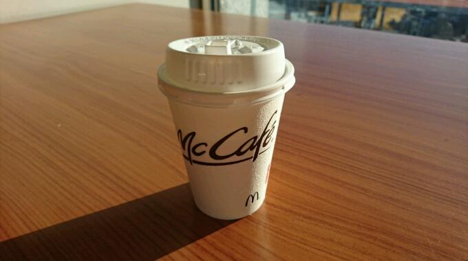新しくなったマクドナルドのコーヒーを試してみた。はたして美味しくなったのか?
