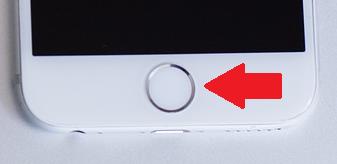 iPhoneホームボタン